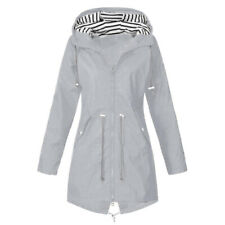 Rain Jacket Women Hooded Windbreaker Waterproof Raincoat Mountaineering Coat