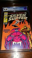 Silver Surfer #6 (1969) CGC 9.0 ( VF/NM ) Stan Lee Story with Buscema Cover