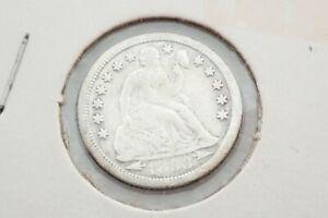 Antique 1853 O Seated Liberty 90% Silver Dime Coin