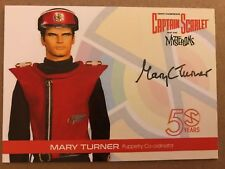 CAPTAIN SCARLET AND THE MYSTERONS 50 YEARS: AUTOGRAPH CARD: MARY TURNER MT1