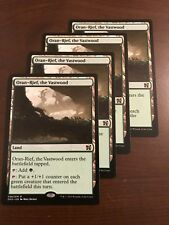 Magic the Gathering 4x ORAN-RIEF THE VASTWOOD MTG Duel Deck Elves vs Inventors 4
