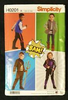 Simplicity Pattern H0201 / 8724 Child's Costume - Size 3-8 - New