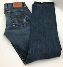"Lucky Brand Jeans Lola Boot Cut  Distressed Women's 2/26 Actual 28""x30"" USA"