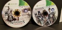 Assassin's Creed III 3 (Microsoft Xbox 360) *GAME DISCS ONLY - CLEANED & TESTED*