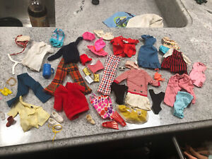 Lot Of Vintage And Mod Barbie Clothes And Accessories!