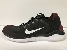 Nike Free RN 2018 Mens Running Shoe Black/Night Maroon 11.5 M