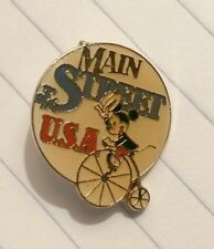 Disney Main Street USA Mickey Mouse Pin Vintage Disneyland Gift Giver