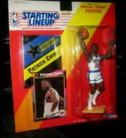 Starting Lineup Patrick Ewing sports figure 1992 Kenner SLU Knicks