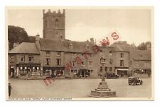 Market Place, Stow on the Wold Vintage Postcard 402Q