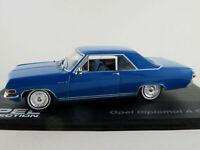 IXO #51 Opel Diplomat A Coupé (1965-1967) in blau 1:43 NEU/PC-Vitrine