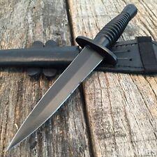 7 Inch Royal British Commando Knife Dagger Based on the Fs w/ Leather Sheath