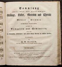 Deutsche antiquarische Bücher von 1800-1849