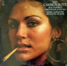 BIZET / CARMEN SUITE - DANIEL BARENBOIM - ANGEL S-36955 - 1973 LP - STILL SEALED