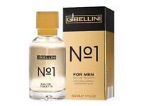 G Bellini No.1 Eau de Toilette for Men perfume 50ml  LIDL EDT like BIG BRANDS