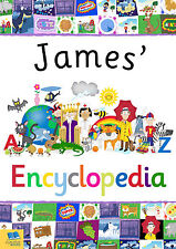 My Personalised Encyclopedia Children's Book Softback Fun Educational Gift