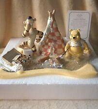 Lenox Pooh Camping on Honey Island Disney Showcase Figurine NIB COA LE