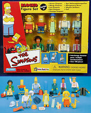 New - SIMPSONS BLOCKO 9-Figure Set SERIES 1 - HOMER Bart SMITHERS Lisa APU Marge