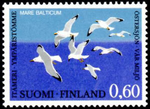 Finland 1974 Birds, Seagulls, Baltic Marine Environment Conference, MNH / UNM