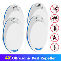 Electronic Ultrasonic Plug in Mosquito Mouse Insect Roach Ant Killer Rodent Rat
