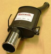 "Peugeot 106 GTi Sportex Exhaust Tailbox -Single 4"""