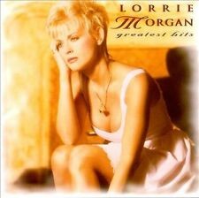LORRIE MORGAN: Greatest Hits  (CD, 1996, BNA)  Something In Red, 10 more