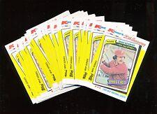 1982 Topps K-Mart  #39 1980 Mike Schmidt 24 Card Lot Nice!
