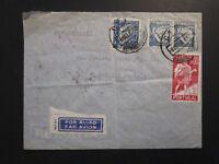 Portugal 1939 Cover to USA Via Clipper / Light Fold - Z3944