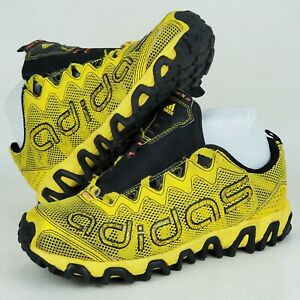 Adidas G66093 Yellow OrthoLite Running Shoes Sneakers Kids Women's (?) Size 3