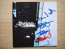Thrice - The illusion of safety cd signed autographed Dustin Kensrue