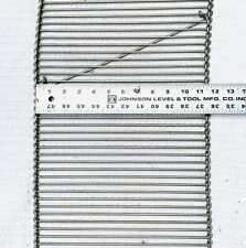 """12 """" stainless steel conveyor belt 21' total"""