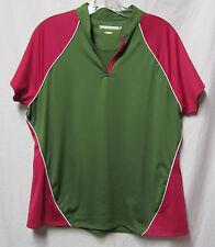 Greg Norman Ladies Women Golf shirt Top Large 10/12 Bust 42