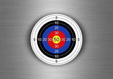 Autocollant sticker decoration cible target airsoft target flechette tir arc r2