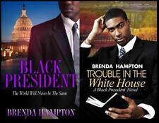 The Black President Series Collection Set Books 1-2 by Brenda Hampton Brand New