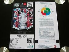 2017 F A Cup Final Ticket Arsenal v Chelsea in mint condition. (Arsenal section)