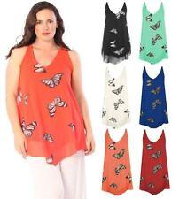 Unbranded Chiffon Sleeveless T-Shirts for Women