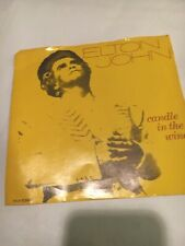 45 rpm record -Elton John - Candle In The Wind