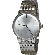 HAMILTON INTRA-MATIC HOMME 42MM BRACELET MÉTAL AUTOMATIQUE MONTRE H38755151