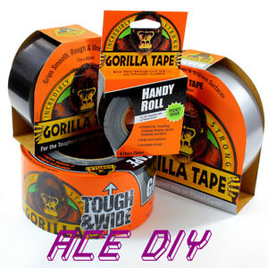 Gorilla Tape Range | Tough Thick Strong Grip Bond Weather Resistant Duct Repair