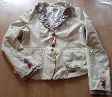 Desigual Blazer Jacke Damenjacke Damenblazer Gr. DE 42 beige
