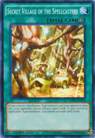 *** SECRET VILLAGE OF THE SPELLCASTERS *** LDK2-ENY33 YUGIOH! MINT/NM