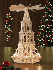 Weihnachtspyrmide 53 Cm MODELL Christi Geburt / Erzgebirge