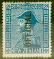 New Zealand 1928 2s Light Blue SG0112 Fine Mtd Mint