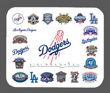 Los Angeles Dodgers Art Logo Mouse Pad Item#431