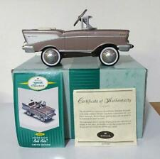 Hallmark Kiddie Car Classics 1957 Custom Chevy Bel Air Le Qhg7117 Mint Coa