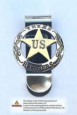 Western Decor Unique Cowboy ~TEXAS RANGERS~ Concho Money Clip
