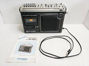 Vintage Centrex By Pioneer AM/FM Radio Casette Recorder RK-888