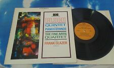 Ernest Bloch, Frank Glazer, Fine Arts Quartet ‎– Bloch -Quintet For Piano USA LP