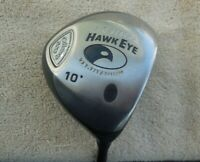 CALLAWAY BIG BERTHA HAWKEYE VFT 10*DRIVER/SYSTEM 60 REG FLEX GRAPHITE SHAFT