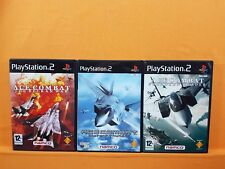 ps2 ACE COMBAT x3 *x Belkan War + Distant Thunder + Squadron Leader  PAL