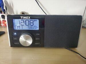 RARE Timex TM80 Alarm Clock Radio  SD/flash drive